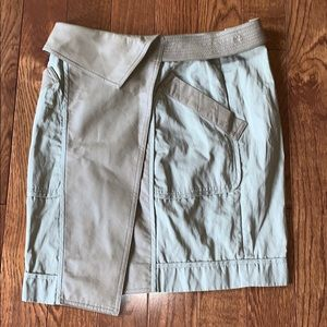 Alexander Wang Skirt Utility Leather Detail